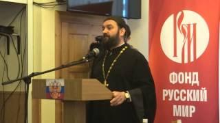 Протоиерей Андрей Ткачев в Севастополе. 12 февраля 2014 года. Часть 1 из 3