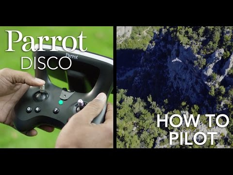 Parrot DISCO - Tutorial #4 - Piloting