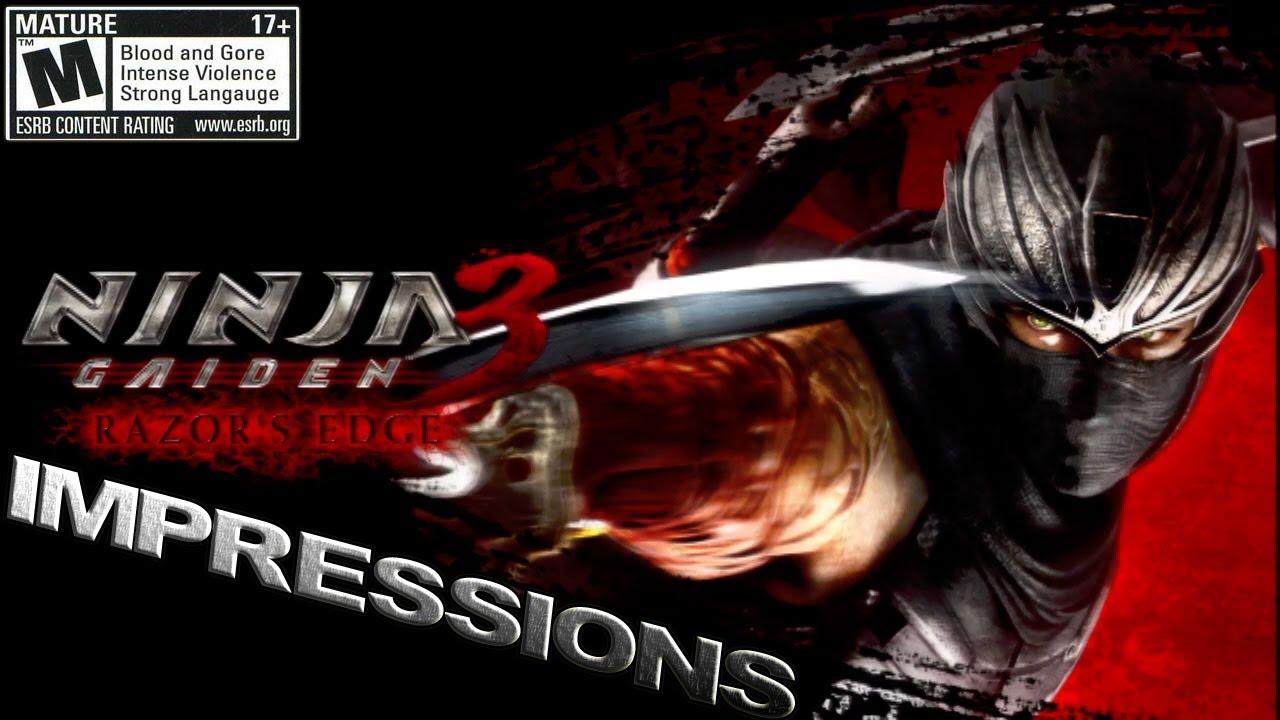 Ninja Gaiden 3 Razors Edge Impressions Wii U Hd Youtube