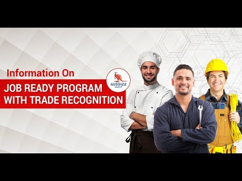 Information on Job Ready Program with Trade Recognition