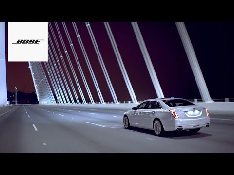 Bose Automotive | Bose Panaray for the Cadillac CT6
