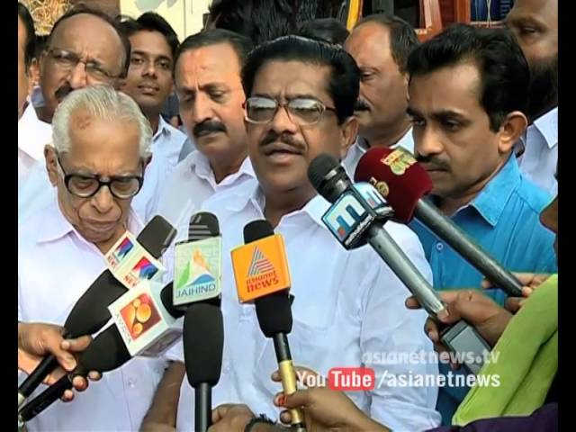 Kallayi Puzha encroachment, VM Sudheeran Visits Kallayi Puzha