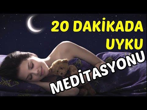 20 Dakikada DERİN UYKUYA Geçme Meditasyonu #meditasyon #uykumeditasyonu