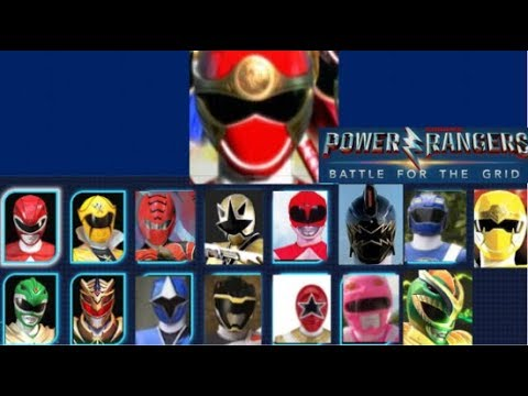Power rangers Battle For the Grid: Character Roster Wishlist