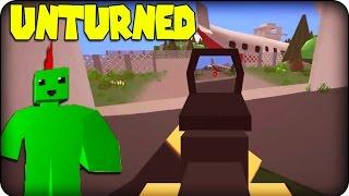 Unturned  Minecraft meets DayZ  Zombie Survival Game!