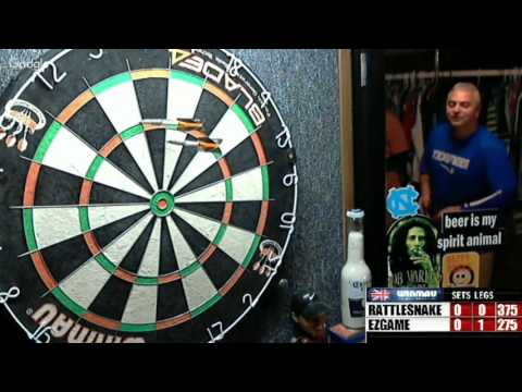 Ty and Joe VS Daniel and Justin --WDA  Darts