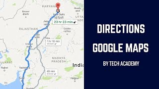 Show Directions  |  Google Maps Tutorial (Android Tutorials) Free HD Video