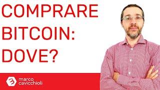 Comprare Bitcoin: dove conviene?