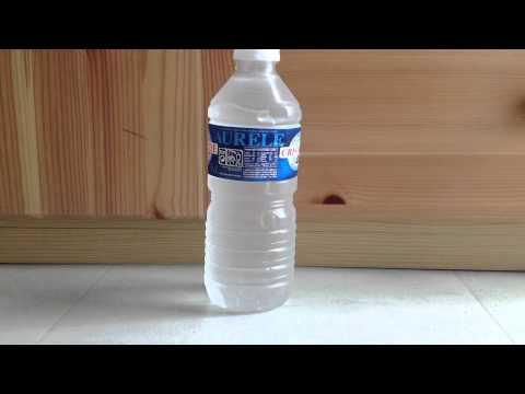 Surfusion - Geler de l'eau instantanément