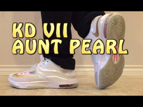 9d4557d32ee KD VII 7 Aunt Pearl Review with ON FEET - YouTube