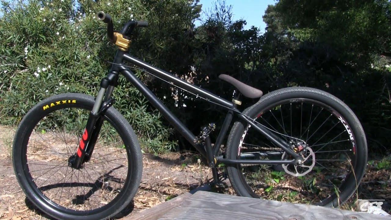 dk dirt jumper bike check
