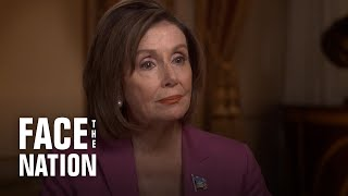 Full interview with House Speaker Nancy Pelosi