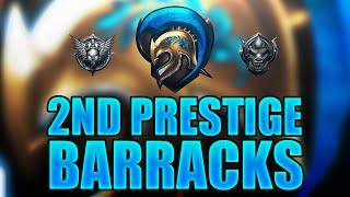 BO3 BARRACKS VIDEO! 2nd Prestige, 4+ K/D, 7+ W/L and stats