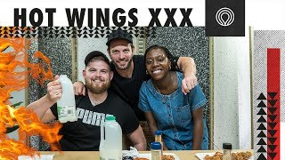 HOT WING CHALLENGE — Life after Newday with Ben, Neal & Rebbekah