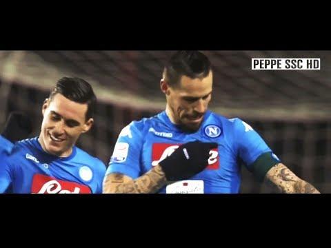 """SSC Napoli """"Campioni D'Inverno"""" 2017-2018 tutti i 48 gol di metà stagione"""