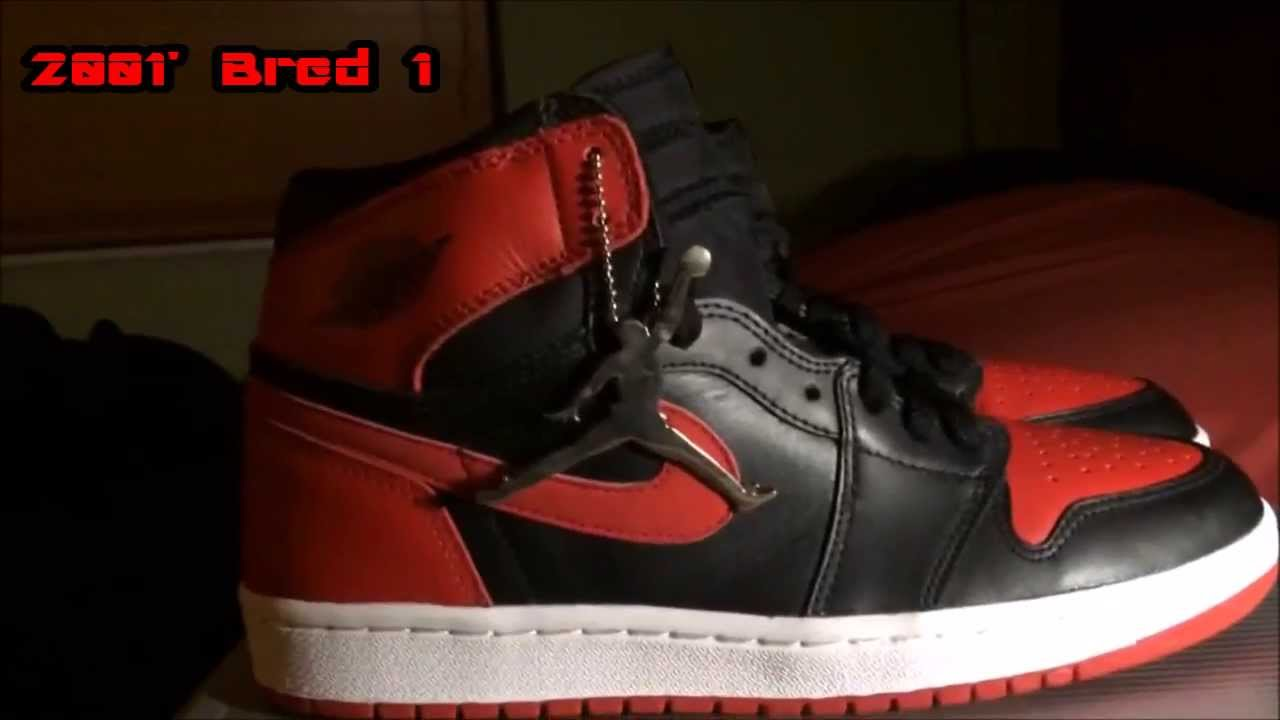 check out dc28a 5d68d Air Jordan 1 Bred 2001' In-Depth Review