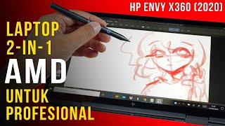 Laptop AMD yang Berkelas dan Kencang: Review HP ENVY x360 (2020)