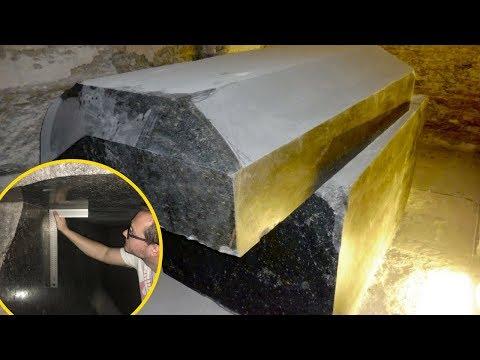 MYSTÉRIEUSES CUVES DE 100 TONNES DU SERAPEUM: Immersion dans l'Énigme de Saqqarah, Égypte