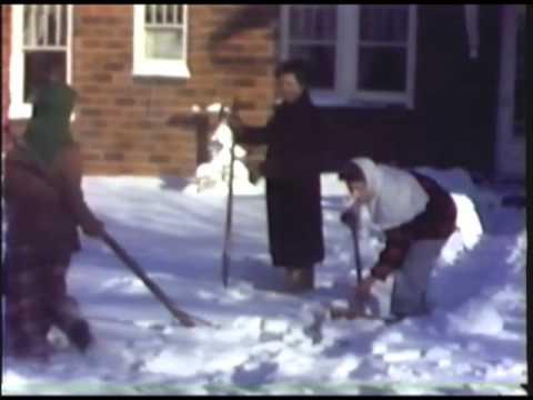 R8-S2 Feb 1949 Winter on Main Street - Renwick, Iowa
