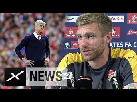FA-Cup: Per Mertesacker stärkt Arsene Wenger den Rücken | FC Arsenal - FC Chelsea | FA-Cup