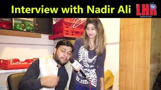 Nadir Ali making fun on Girl's make up Rida Shah Lahore TV Pakistan India