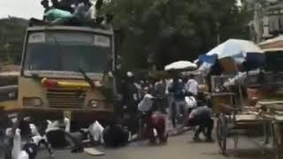 Heavy Accident Delhi