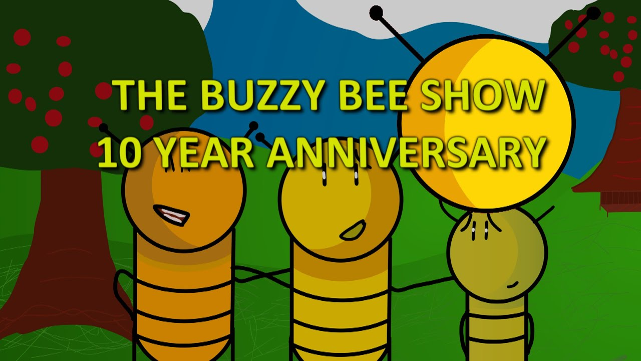 The Buzzy Bee Show - Season 1 Bloopers and Outtakes (10th Anniversary Special)