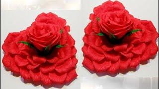 ВАЛЕНТИНКИ из ЛЕПЕСТКОВ РОЗ на 14 февраля своими руками. Поделки цветы из конфет на 8 МАРТА.идеи.DIY