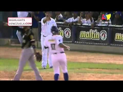Highlights LVBP 09/01/2016 - Leones del Caracas vs Navegantes del Magallanes