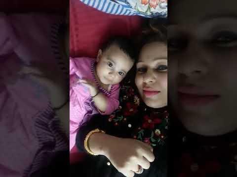 Alisha grewal khan with baby alompeia khan