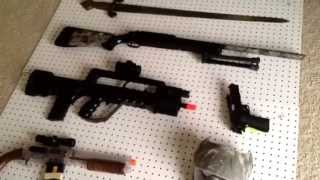 How To Make A Airsoft Gun Rack