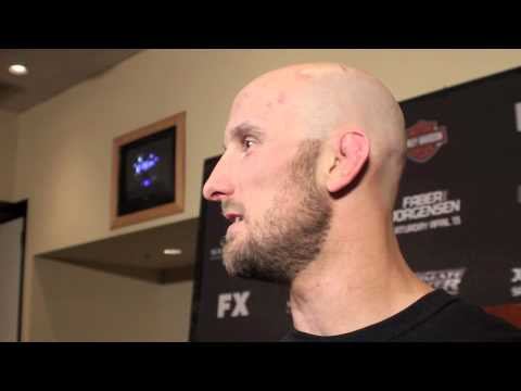 "Bubba McDaniel: ""I'm Looking to Finish at All Times"" (TUF 17 Finale Post-Fight)"