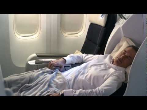 Air France Business Class on Board Cabin Tour  YouTube