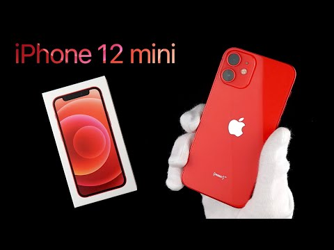 iPhone 12 mini Product RED Unboxing & First Look | ASMR Unboxing