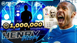 WE PACKED A PLAYER WORTH 1 MILLION COINS!! (The Henry Theory #60) (FIFA Ultimate Team)