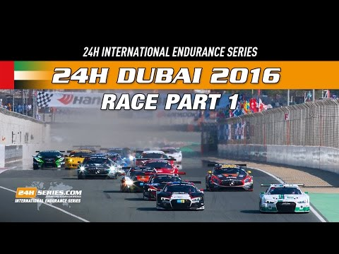 Hankook 24H DUBAI 2016 Race part 1