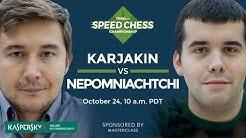 Speed Chess Championship: Sergey Karjakin Vs Ian Nepomniachtchi