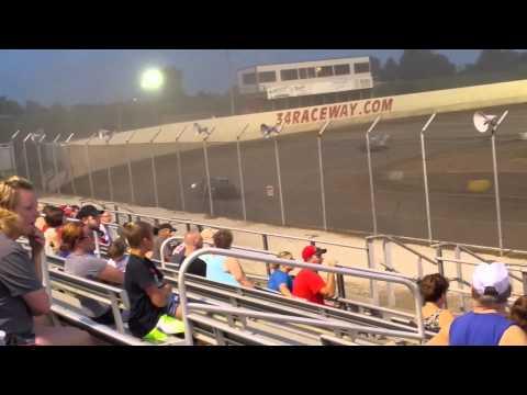 34 raceway imca sport mod feature 7/25/15