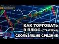 Скользящие средние - Как ТОРГОВАТЬ криптовалютой В ПЛЮС 🚀стратегия - Обучение по криптовалюте 📈