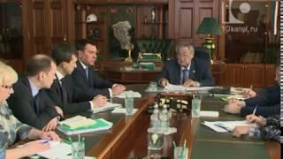 Novokuznetsk istiqbollari Hokim Aman bu Tuleyev va meri Sergey shu Kuznetsov bilan uchrashdi