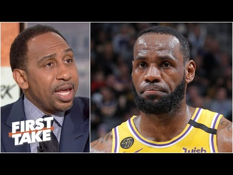 Stephen A. won't support LeBron load managing before the Lakers secure the No. 1 seed | First Take