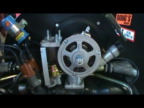 VW Generator To Alternator Conversion Part Two  YouTube
