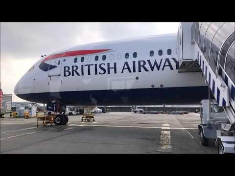 Mini Trip Report - Club World | British Airways | BA460 | Boeing 787-9 -G-ZBKI | London to Madrid HD