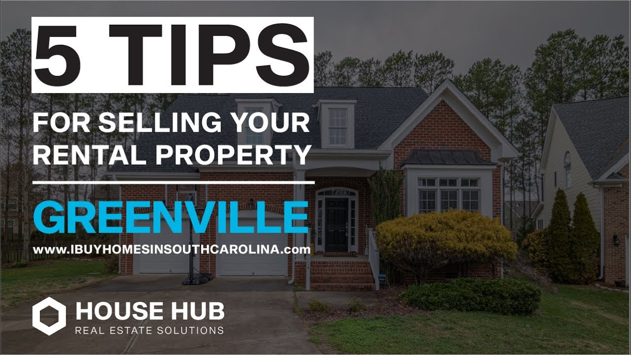 Selling Your Rental Property In Greenville SC - Call 864-272-5400 - We Buy Houses In Greenville SC
