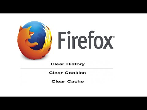 How do you delete browser history on firefox