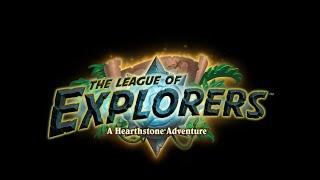 Hearthstone : League of Explorers Temple of Orsis Sacando cartas nuevas