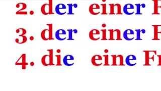 Немецкий язык для начинающих. Урок 6