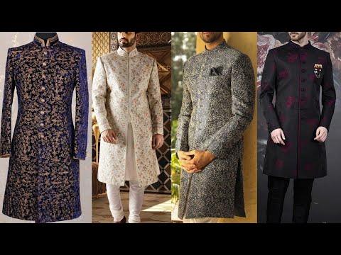 Designer Sherwani For Groom | Wedding Sherwani Design | Latest Sherwani Design For Men
