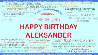 Aleksander   Languages Idiomas - Happy Birthday
