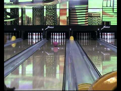 UFO/Helicopter/Taiwan Spinner 飛碟 Bowling Strike